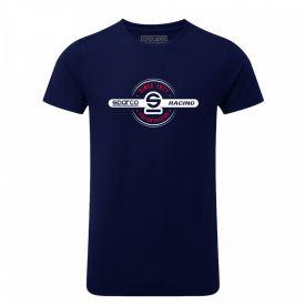 T-shirt SPARCO 1977 bleu marine pour homme