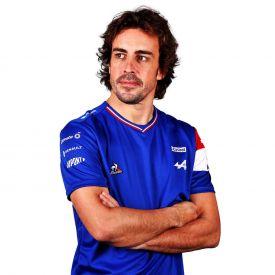 Maillot ALPINE F1® Team 2021 Alonso bleu pour homme