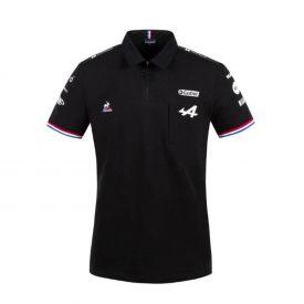 Polo ALPINE F1® Team 2021 noir pour homme