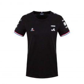 T-shirt ALPINE F1® Team 2021 noir pour femme