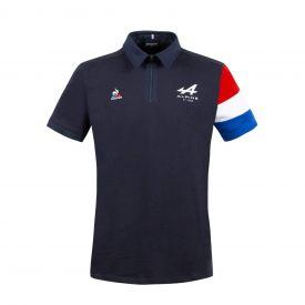 Polo ALPINE F1® Team 2021 Fan noir pour homme