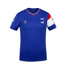 Maillot ALPINE F1® Team 2021 Ocon bleu pour enfant