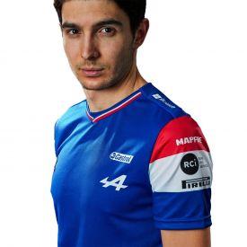 Maillot ALPINE F1® Team 2021 Ocon bleu pour homme