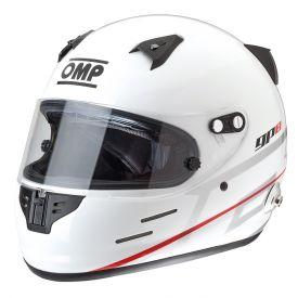 Casque FIA Intégral OMP GP 8 Evo blanc