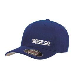 Casquette SPARCO Flexfit bleu