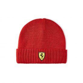 Bonnet FERRARI Lifestyle logo rouge