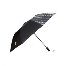 Parapluie compact FERRARI Logo noir