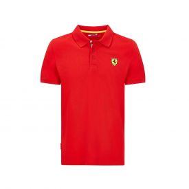 Polo FERRARI Classic Logo rouge pour homme