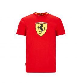 T-shirt FERRARI Logo large rouge pour homme