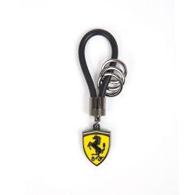 Porte clés FERRARI Rubber noir