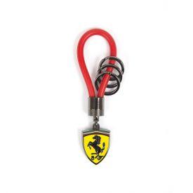 Porte clés FERRARI Rubber rouge
