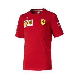 T-shirt FERRARI Team 2019 rouge pour enfant