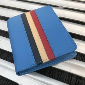 Portefeuille GULF Vintage Stripe bleu