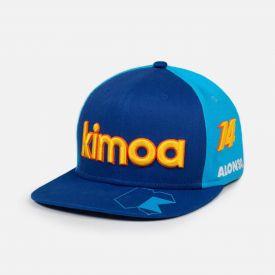 Casquette KIMOA ALPINE F1® TEAM Alonso bleue
