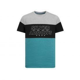 T-shirt MERCEDES AMG Cut n sew 2019 vert pour homme