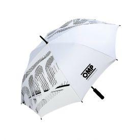 Parapluie OMP Logo blanc