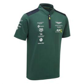 Polo ASTON MARTIN Team logo vert homme