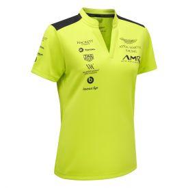 Polo ASTON MARTIN Team vert clair pour femme
