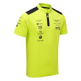 Polo ASTON MARTIN Team vert clair pour homme