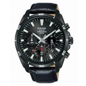 Montre PULSAR Sport PZ5063X1 cuir noir
