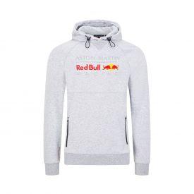 Sweat à capuche RED BULL gris pour homme