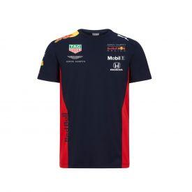 T-shirt RED BULL Team officiel 2020 bleu pour homme