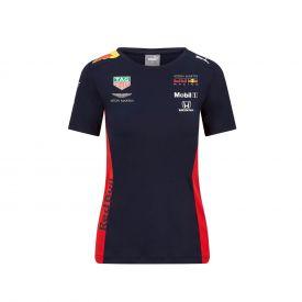 T-shirt RED BULL Team 2020 bleu pour femme