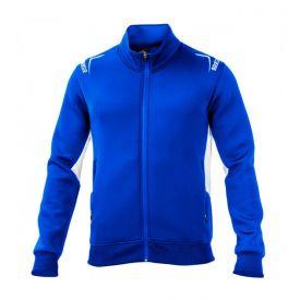 Sweat zippé SPARCO Club bleu pour homme