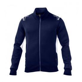 Sweat zippé SPARCO Club bleu marine pour homme