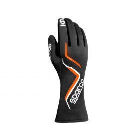 Gants SPARCO FIA Land édition limitée noir/orange fluo