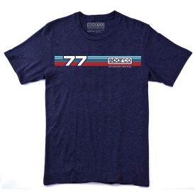 T-shirt SPARCO Rallye bleu indigo pour homme