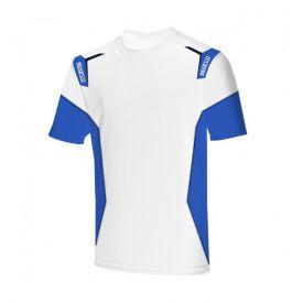 T-shirt SPARCO Skid blanc pour homme
