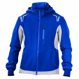 Softshell SPARCO Top-Tech bleu pour homme