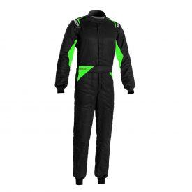 Combinaison SPARCO FIA Sprint édition limitée noir/vert fluo