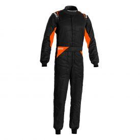Combinaison SPARCO FIA Sprint édition limitée noir/orange fluo