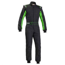 Combinaison FIA SPARCO Sprint RS-2.1 édition limitée noir/vert