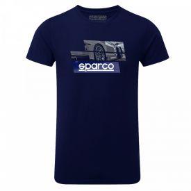 T-shirt SPARCO Track bleu marine pour homme