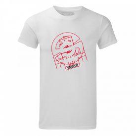 T-shirt SPARCO Tron blanc pour homme
