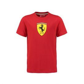 T-shirt FERRARI Classic rouge pour enfant