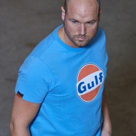 T-shirt GULF Dry-T bleu cobalt pour homme