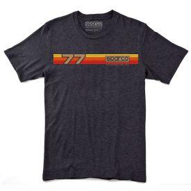 T-shirt SPARCO Rallye noir pour homme