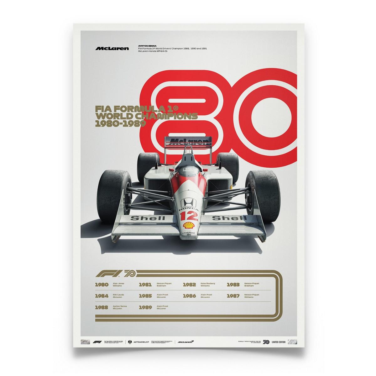 FORMULA 1® DECADES - 80s McLaren