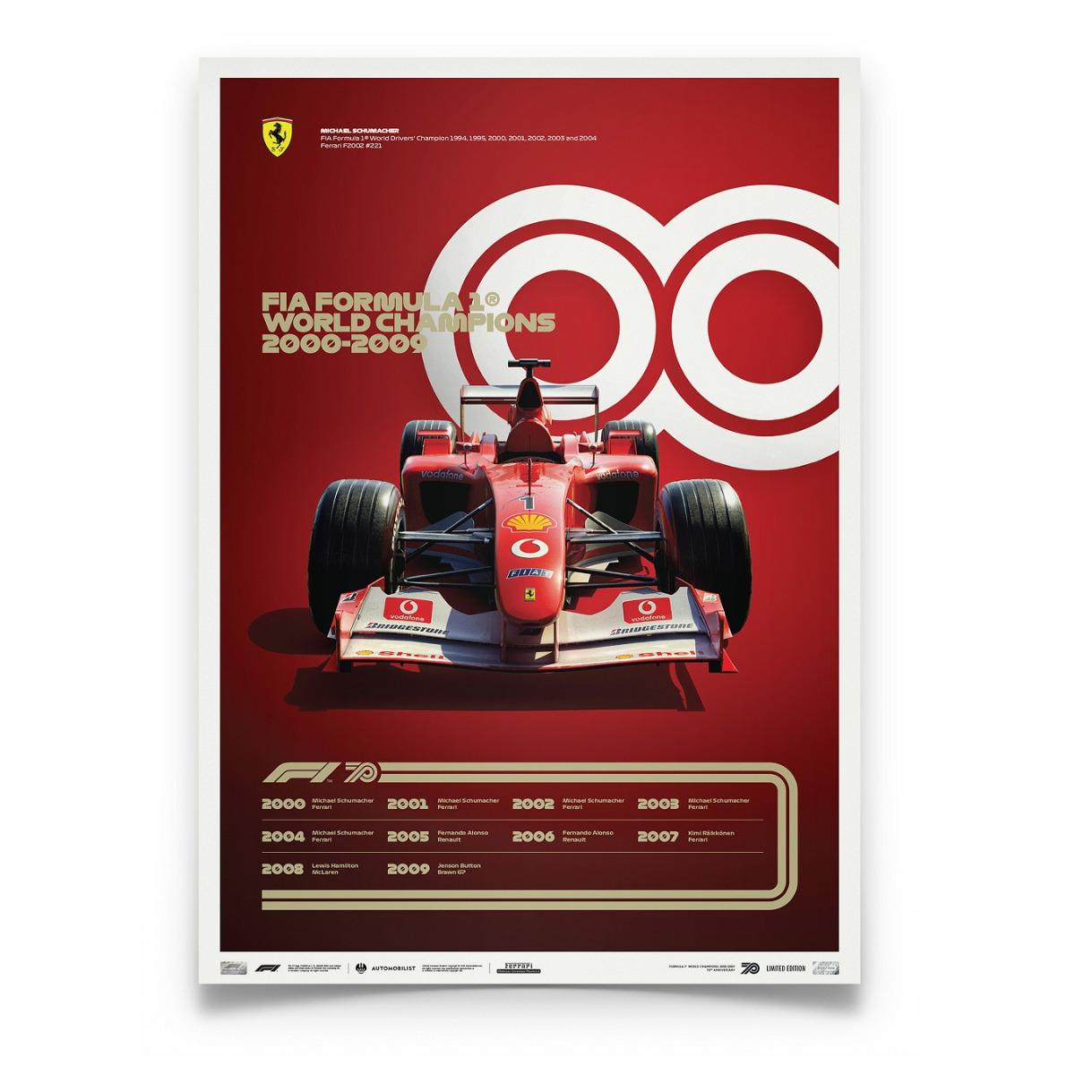 FORMULA 1® DECADES - 2000s Ferrari