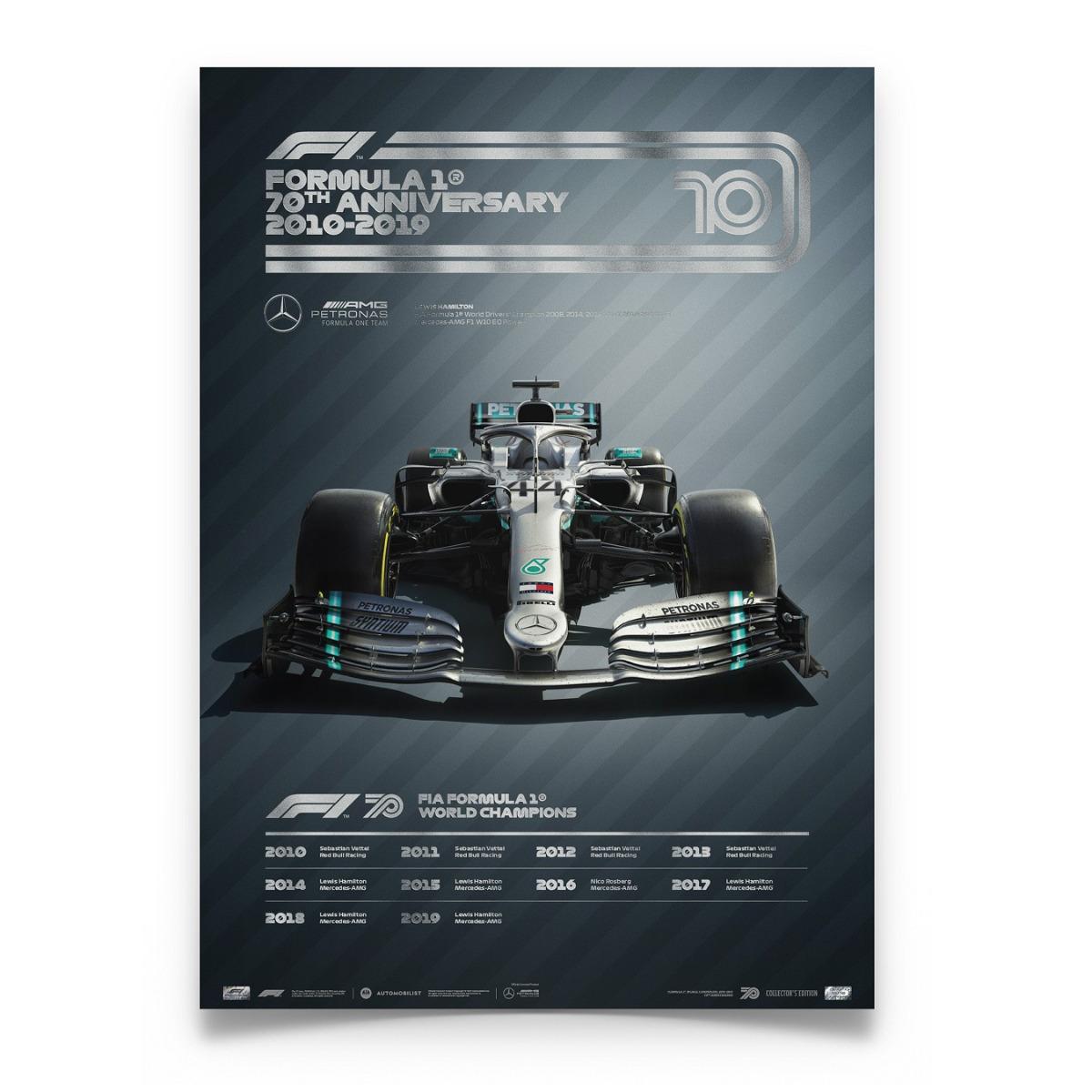 FORMULA 1® DECADES - 2010s Mercedes-AMG Petronas F1 Team