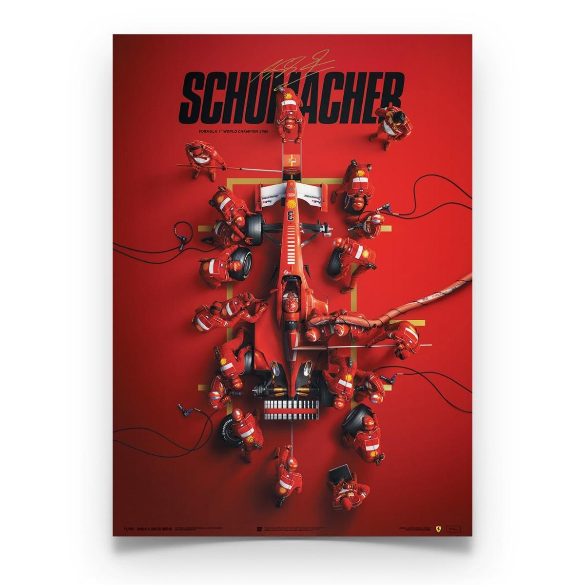 Ferrari F1-2000 - Michael Schumacher - Pit Stop