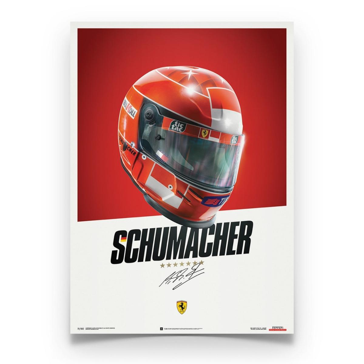 Ferrari F1-2000 - Michael Schumacher - Helmet