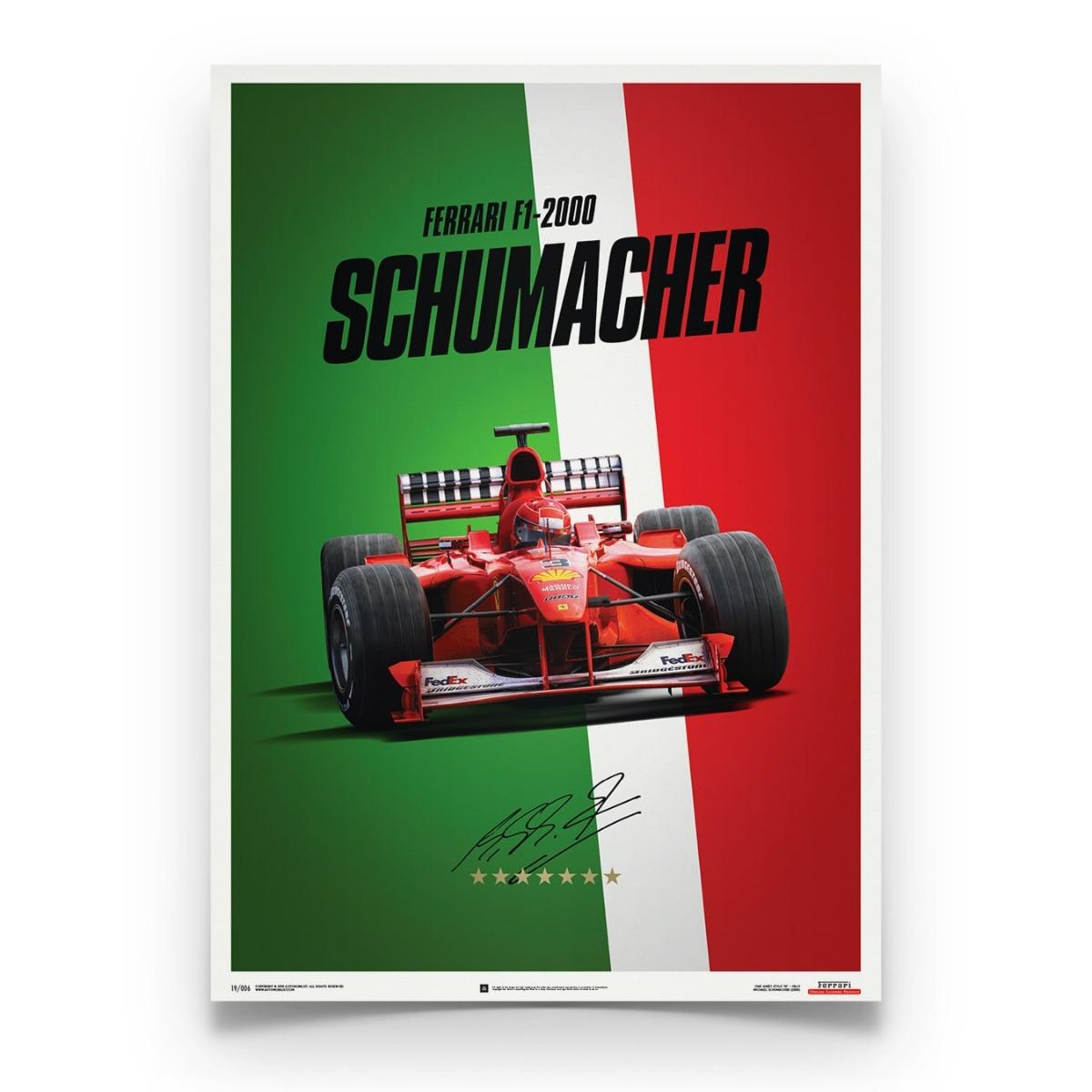 Ferrari F1-2000 - Michael Schumacher - Italy - Suzuka GP