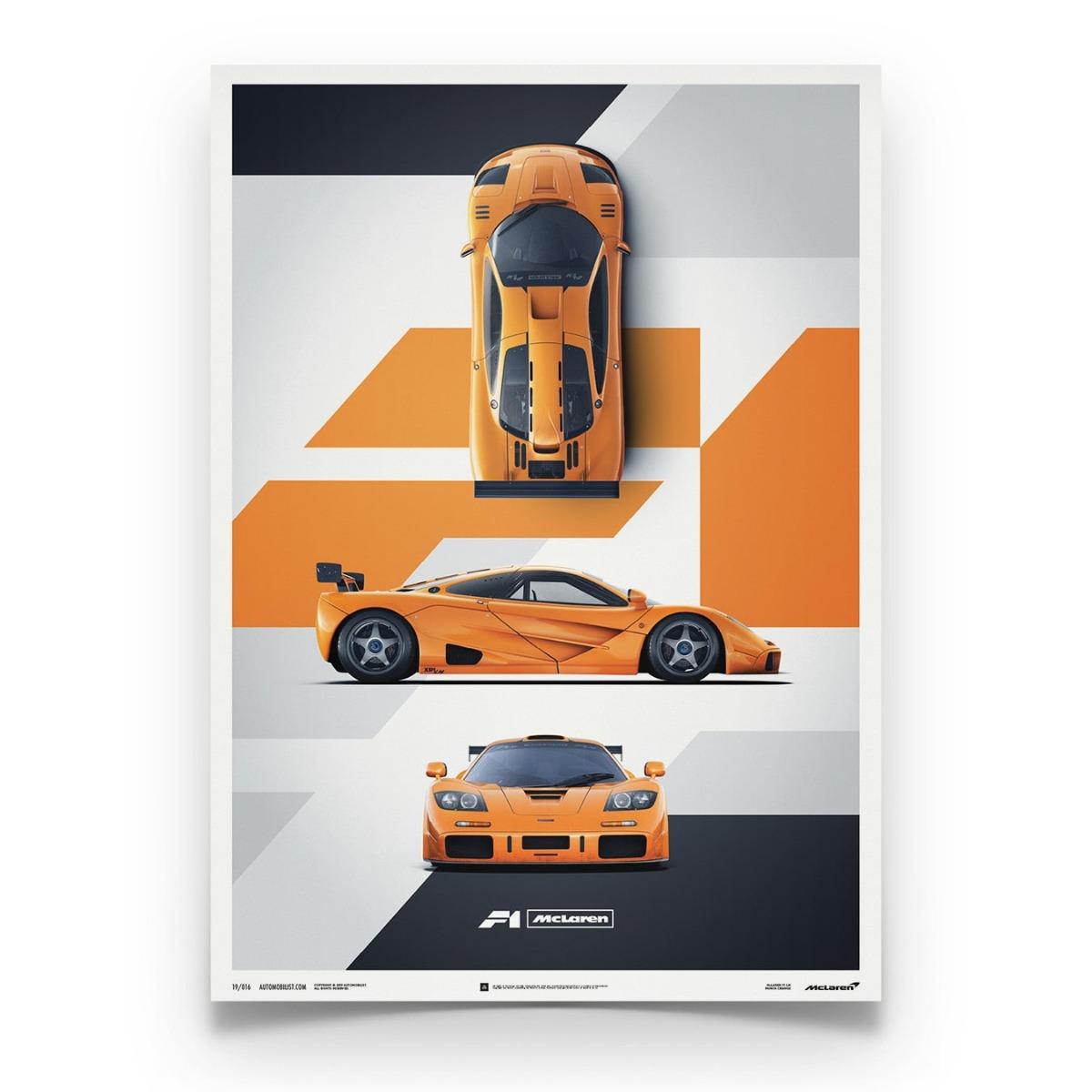 McLaren F1 LM - Papaya Orange
