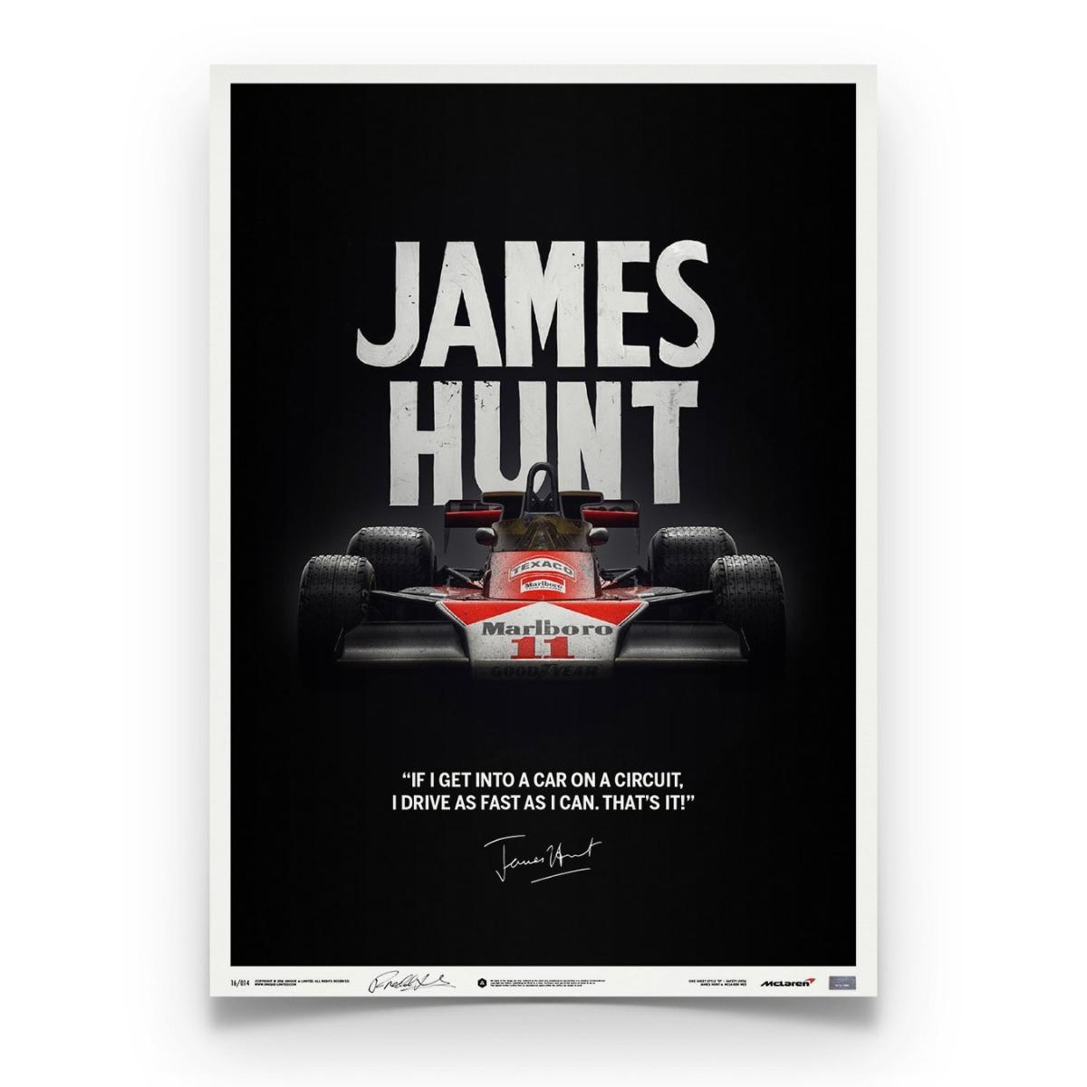 McLaren M23 - James Hunt - Quote - Japanese GP - 1976